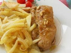 Ψαρονέφρι με σάλτσα πορτοκάλι και κουκουνάρι - http://www.zannetcooks.com/recipe/psaronefriximosportokali/
