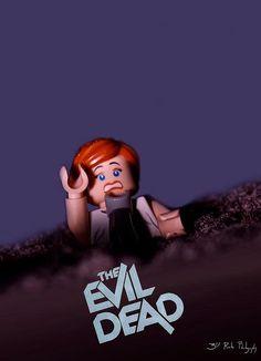 Lego Evil Dead Poster