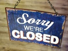 Hey, Small Business Owner: Maybe Social Media Isn't For You Inbound Marketing, Content Marketing, Media Marketing, Sorry We Are Closed, Website Down, Closed Signs, White Home Decor, Blogging, Social Media