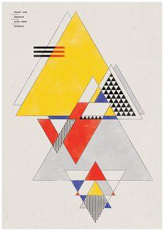 Great Bauhaus style graphics