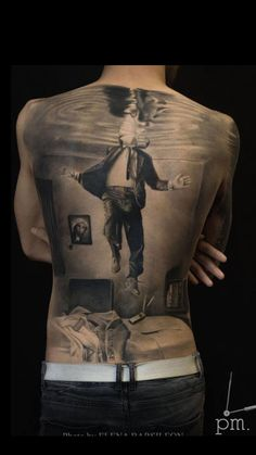 Back Tattoo Best Tattoo Ideas Gallery Hello! Here we have nice picture about back tattoo designs. We hope these photos can be your li. Dope Tattoos, Weird Tattoos, Great Tattoos, Body Art Tattoos, New Tattoos, Sleeve Tattoos, Tatoos, Back Tattoos For Guys, Full Back Tattoos