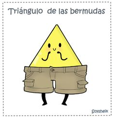 #Spanish jokes for kids: El triángulo de las bermudas. #chistes #jokes in Spanish