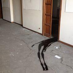 Creepy Abandoned Hospital Graffiti Art, ghost Street Art
