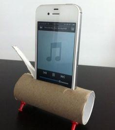 Så här enkelt får man en högtalare till mobilen.