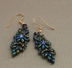 Tah Dah Duo Drop Earrings by Twyla~