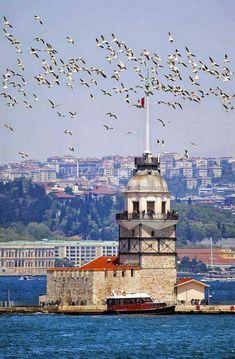 İstanbul. Kız Kulesi. Türkiye