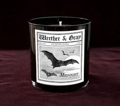 MIDNIGHT Soy Blend Candle Black Tumbler –– A standard clove scented candle to please those black hearts who revel in the darkness of night.