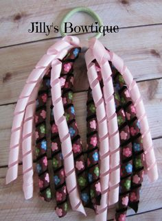 Pony Tail Korker by JillysUniqueBowtique on Etsy, $4.95