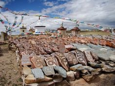 Mani Stones, Tibet ~ Om Mani Peme Hung