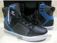 http://www.jordannew.com/supra-chad-muska-skytop-black-leather-grey-suede-blue-cheap-to-buy.html SUPRA CHAD MUSKA SKYTOP BLACK LEATHER GREY SUEDE BLUE CHEAP TO BUY Only 54.90€ , Free Shipping!