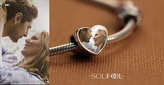 Turn your treasured photos into personalized charms. Soufeel Memorable Photo Charms fit all brands bracelets.