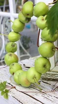 Apple wreath simple and sweet  Save by Antonella B.Rossi