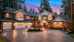 Grand Craftsman Manor - 23643JD | Architectural Designs - House Plans