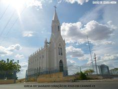Canindé Ceará - Igreja do sagrado coração de Jesus
