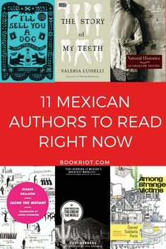 11 mexican authors to read right now. Book list of great Mexican fiction to read right now I Love Books, Good Books, Books To Read, My Books, Books By Black Authors, Literature Books, International Books, Book Lists, Reading Lists