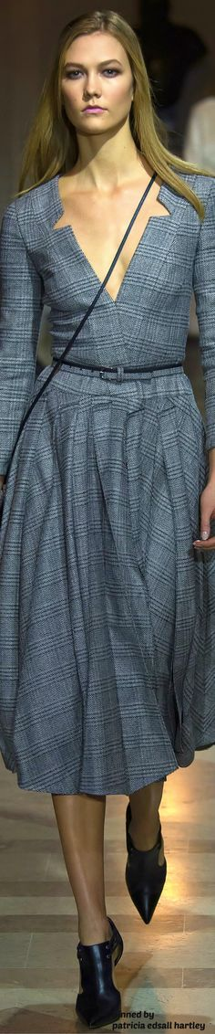 Carolina Herrera Fall 2016 RTW women fashion outfit clothing style apparel @roressclothes closet ideas