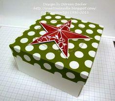 Creativelädle: Stampin UP! Umschlagboard