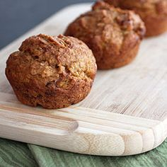 Vegan Chai Spiced Pumpkin Muffins made with whole wheat flour, bulgur and flax.