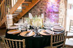 Konzept mit Gold, Schwarz und Weiß - Wedding Dinner Freiburg  Foto: www.fräulein-klick.com Umsetzung:@Hochzeitsfee Freiburg