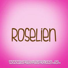 Roselien  (Voor meer inspiratie, en unieke geboortekaartjes kijk op www.heyboyheygirl.nl)