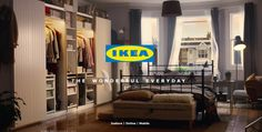IKEA -The Joy of Storage  http://www.francescatognoni.com/ikea-cambio-di-stagione-epico/