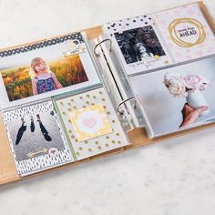 "Kraft 6"" x 8"" Project Life Album by Stampin' Up!"