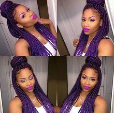 Braids ¤ Twist (Natural hair & Protective Style). Box braids,