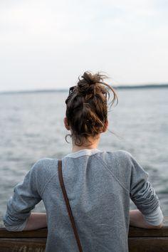 thingsofinterest: Jess at the Saint Simons Island Pier.