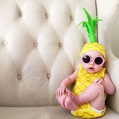 De abacaxi a Mestra Yoda, não vai faltar criatividade para celebrar o primeiro carnaval do seu filho. Vem cá ver quanta ideia bacana: