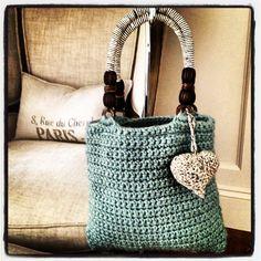 SeaFoam Handbag. $72.99, via Etsy.