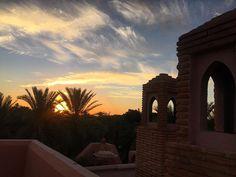 Enjoying the beauty of sunset in Marrakesh  Apreciando a beleza do por do sol em Marrakesh! #marrocos #marrakech #royalmansour #paradise #luckygirl #happiness #grateful #love by iza_goulart