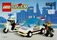 View LEGO instructions for Police Highway Patrol set number 6625 to help you build these LEGO sets
