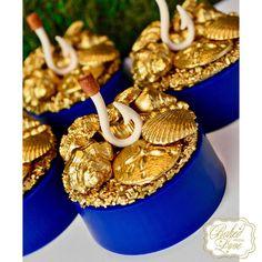 Moana party ideas - chocolate covered oreos