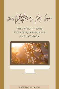 Meditations for Love ❤️ Free meditations for Love, Loneliness and Intimacy. Guided meditations for love and healing. Love yourself and lose fear of intimacy. Free Meditation, Guided Meditation, Anxiety Relief, Stress Relief, Fear Of Being Alone, Inner Child Healing, Self Empowerment, Finding Love, Subconscious Mind