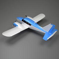 Twin Engine Light Craft 3D 3Ds - 3D Model