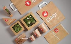 packaging for salad/sandwiches