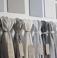 Premium fabrics for curtains & blinds - London showroom