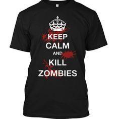ZOMBIE KILLER T Shirts, Hoodies. Check Price ==► https://www.sunfrog.com/No-Category/ZOMBIE-KILLER.html?41382 $19