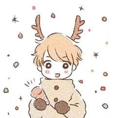Anime Chibi, Kawaii Anime, Anime Art, Kawaii Drawings, Art Drawings, Couple Drawings, Cute Chibi, Cute Characters, Manga Drawing