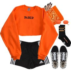 Set 851 - by xjulie99 on Polyvore featuring мода, Heron Preston, Vans and adidas