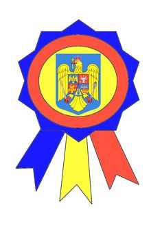 Cocardă tricoloră cu stema țării și coroana de oțel... 1 Decembrie, Knitting Stitches, Past, Classroom, Traditional, Moldova, School, Christmas, House