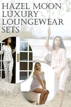 Check out our gorgeous luxury longewear sets! Comfy, silky fabrics and designs. Hazel Moon is dedicated to providing top quality luxury loungewear and loungewar fashion styles. We're a brand of sleep and loungewear with soft and natural fabrics made to be worn in and out of bed. #HazelMoon #LuxuryLoungewear Comfy Fall Outfits, Spring Outfits, Winter Outfits, Cute Sleepwear, Loungewear Set, Comfy Dresses, Cut And Style, Fashion Styles, Lounge Wear