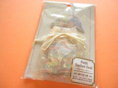 Kawaii Cute Petit Sachet Seal flakes sack *Parrots1 Message Card Sheet20 Tracing Paper Seal (5 desig…