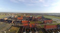 Mooie lucht foto van de wijk Westerdel
