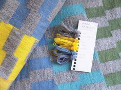 Kristine Bjaadal - Verdi | Norway Designs Nå Norway Design, Decorative Cushions, Blankets, Carpet, Textiles, Plaid, Pillows, Rugs, Fabric