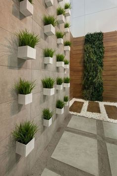 Interior garden 846887904909856444 - cercas modernas Source by Garden Wall Designs, Home Garden Design, Backyard Patio Designs, Interior Garden, Terrace Garden Design, Vertical Garden Design, Design Interior, Modern Garden Design, Fence Design