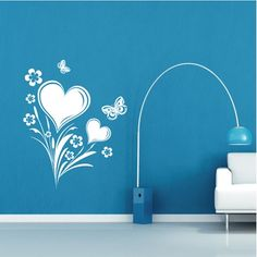 Heart Bloom Wall Art from Next Wall Stickers