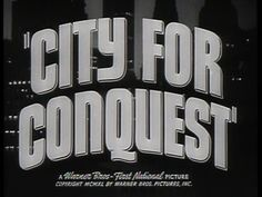 City for conquest trailer title