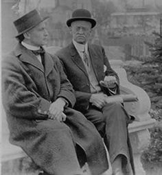 Harry and his brother William. William died of TB at Trudeau Sanatorium in Saranac, NY—a world-renowned center for the treatment of tuberculosis--in 1925.