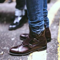 's-Handmade-Tri-monk-Genuine-Leather-brown-Boots
